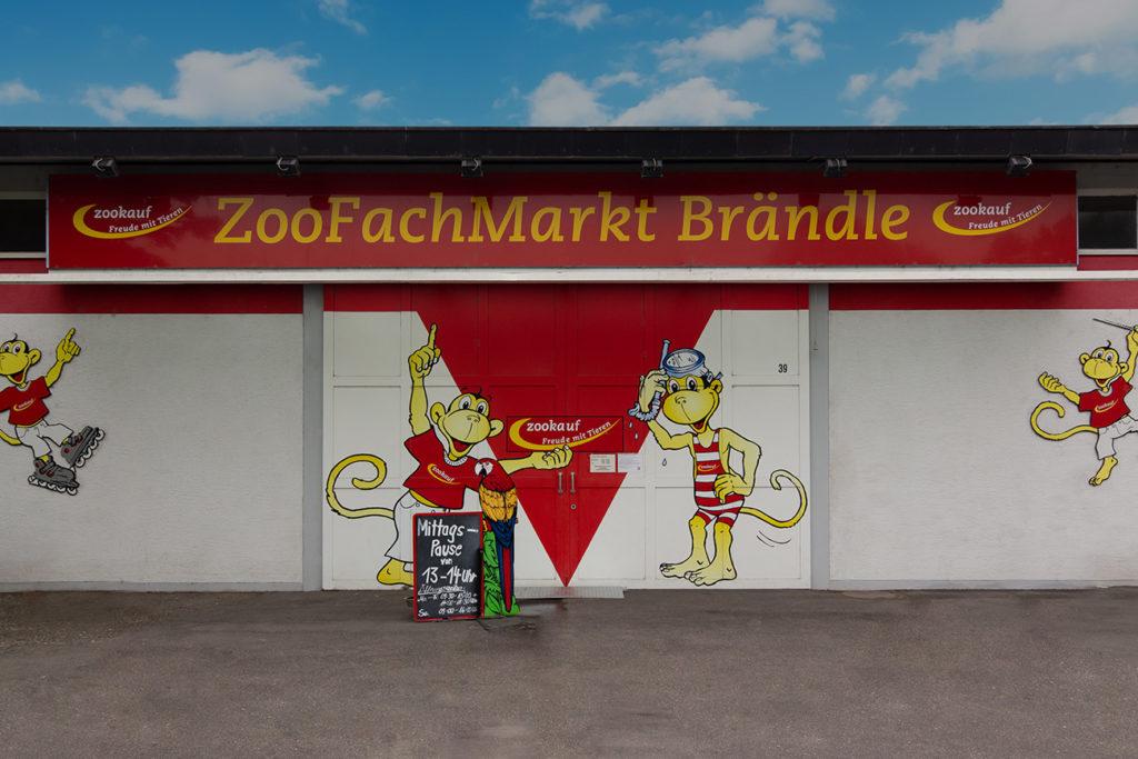 Im Zoofachmarkt Brändle finden Sie fast alles für Ihr Tier